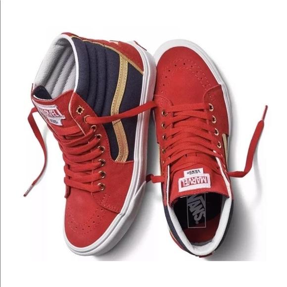 0f4934f2909da6 VANS Skater Shoes  Captain Marvel